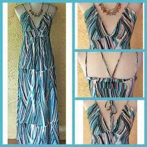 BCBG convertible maxi dress
